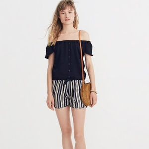 Madewell Texture & Thread Off-the-Shoulder Top.